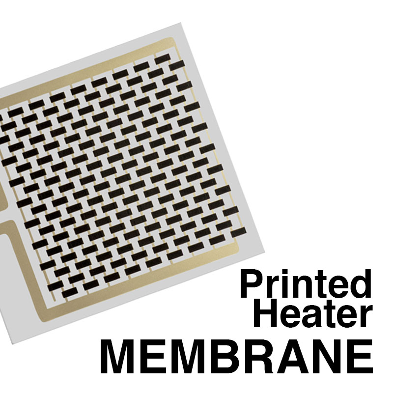 membrane printed heaters